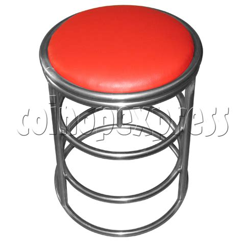 Arcade Round Stool with 3 rings