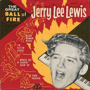 Jerry Lee Lewis - The Great Ball Of Fire (1957, Vinyl