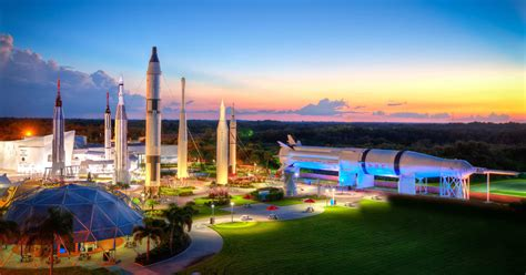 Kennedy Space Center's visitor complex offers outer space