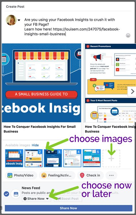 How to Post a Link on Facebook to Get More Clicks