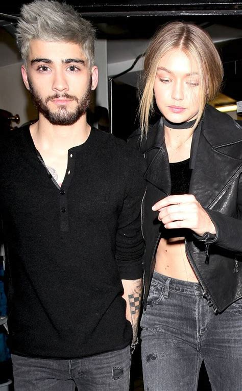 Gigi Hadid Spotted Holding Hands With Zayn Malik for the
