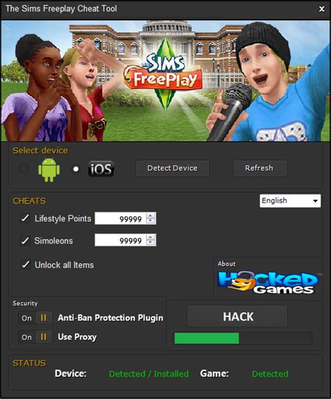 THE SIMS FREEPLAY HACK TOOL CHEATS CODES TELECHARGER