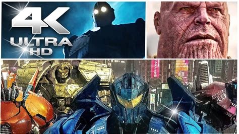 These movies you need to watch their Ultra HD Trailer (4K