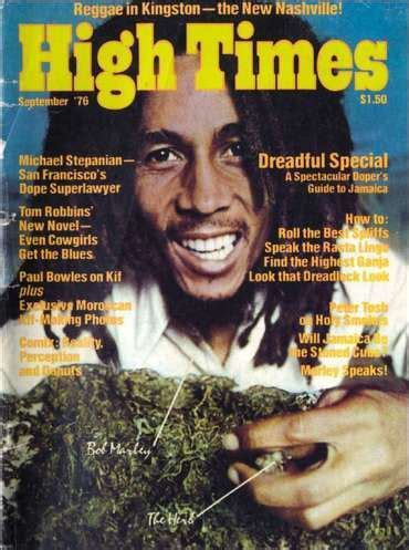 High Times magazine sells to Bob Marley's son, others