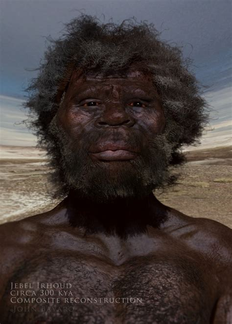 Did the first Homo Sapiens (Cro Magnon?) have more