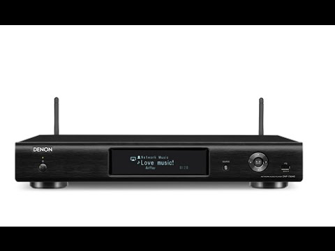 Denon DNP 730AE networked audio player review - YouTube