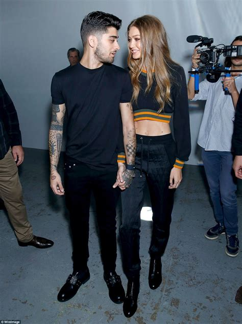 Gigi Hadid and Zayn Malik only have eyes for each other at