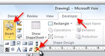 Barcodes in a drawing Visio 2016, 2013, 2010 - ActiveBarcode