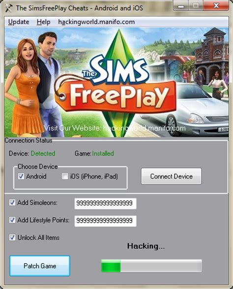 The Sims FreePlay Cheats for Android/iOS Download