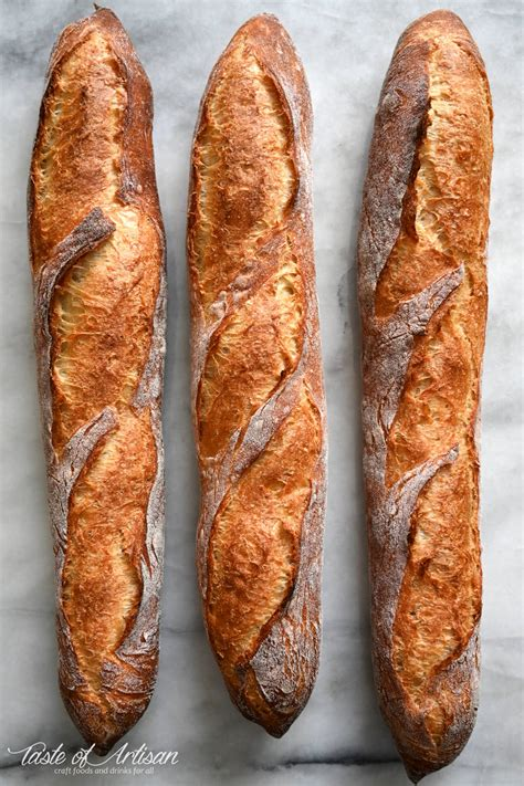 How to Make French Baguettes - Taste of Artisan