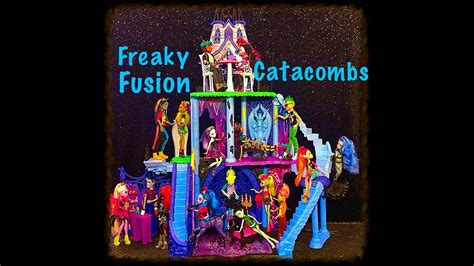 Monster High - Freaky Fusion Catacombs - YouTube