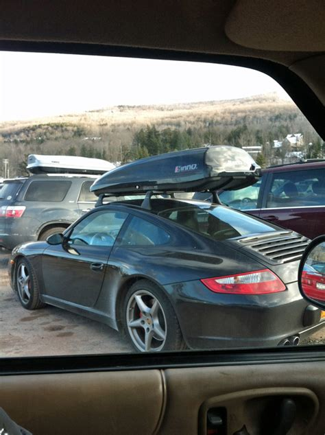 SPOTTED: Somebody Is Taking Their Porsche 911 To The Ski