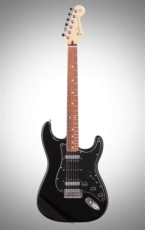 Fender Standard Stratocaster HSH Electric Guitar, Black