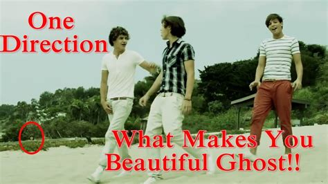 One Direction What Makes You Beautiful Ghost - YouTube
