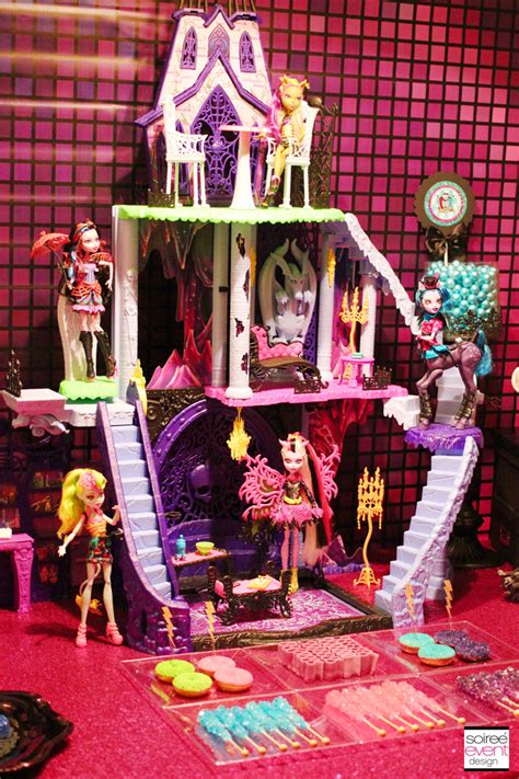 Monster High Party - Freaky Fusion Candy Bar - Soiree