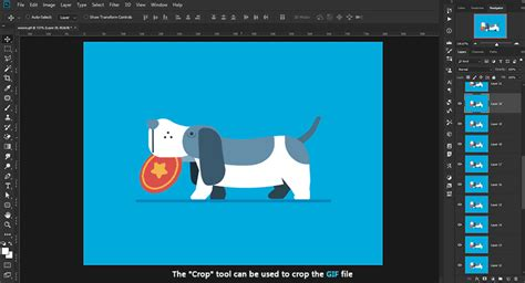 How to Edit Animated GIFs in Photoshop | Editing GIFs in