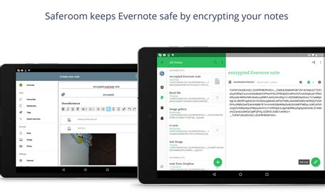 Saferoom - Android Tablet - English - Evernote App Center