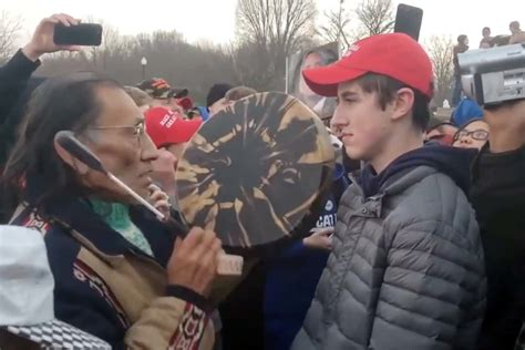Native American Elder from Viral Protest Clip Already
