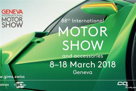 When is the Geneva Motor Show 2018 and how to get tickets