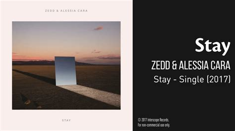 Stay by Zedd & Alessia Cara - Audio - 100 Subs Special