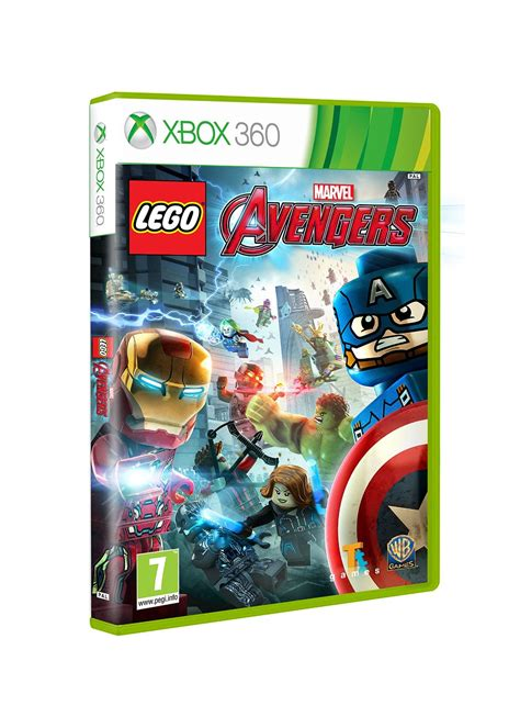 Lego Marvel Avengers Videogame For Xbox 360 Games Console