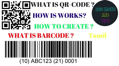 WHAT IS BAR CODE ? WHAT IS QR-CODE ? HOW IT WORKS ? HOW TO