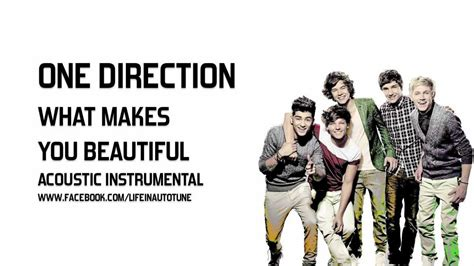 One Direction - What Makes You Beautiful (Acoustic