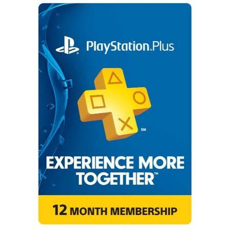 Sony PlayStation Plus 12 Month $49