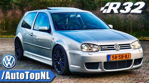VW Golf 4 R32 Review by AutoTopNL - YouTube