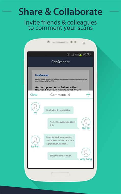 CamScanner - Android - English - Evernote App Center