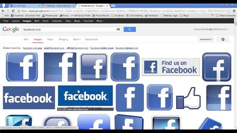 Adding A Facebook Link to Your Gmail Signature - YouTube