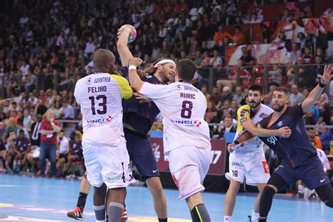 HBC Nantes, PSG Handball, Chambery and Montpellier for