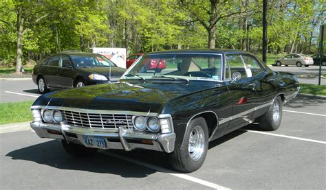 Supernatural's 1967 Chevrolet Impala | Industrial Outpost