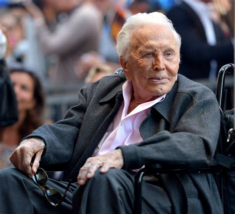 Kirk Douglas honored in NY birthplace with historic marker