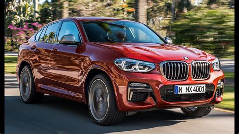 2019 BMW X4 M40D Interior, Exterior and Drive - YouTube