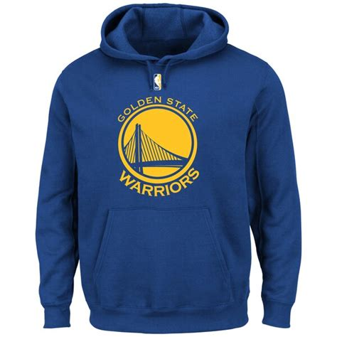 Golden State Warriors Primary Logo Pullover Hoodie