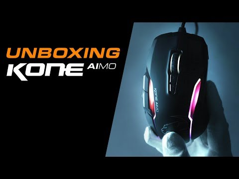 ROCCAT Kone Aimo Optical Gaming Mouse - White Deals   PC World