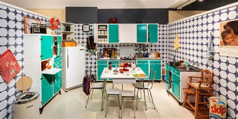 These Ultra-Cool Retro Kitchens Are the Blast From the