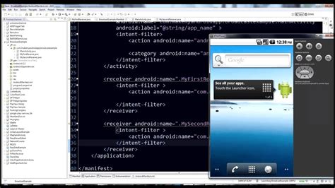 Android programming tutorial - BroadcastReceiver - YouTube