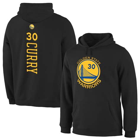 Stephen Curry Golden State Warriors Black Backer Pullover
