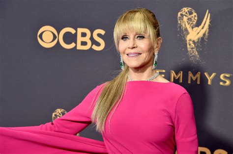 Jane Fonda Hits the Emmys Red Carpet for a Great Moment | Time
