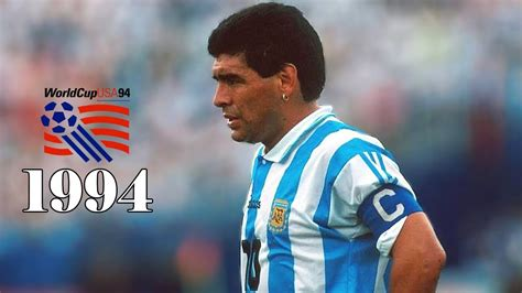 Diego Maradona World Cup 1994 HD - YouTube