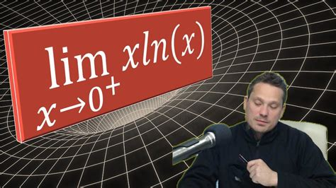 Limit x ln(x) as x approaches 0 from the right - YouTube