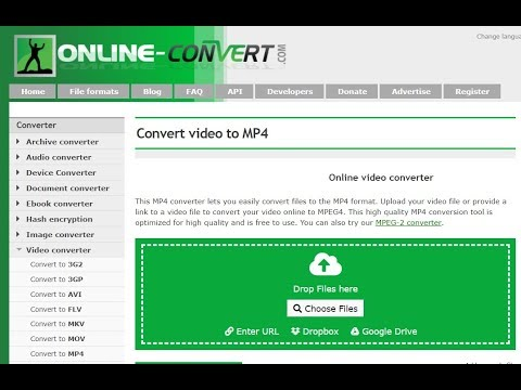 How To Convert Any Video into Any Format for Free