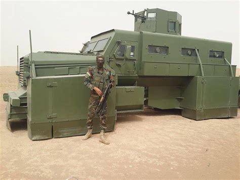 Heavily armored ILAV (Iraqi Light Armored Vehicle) used by